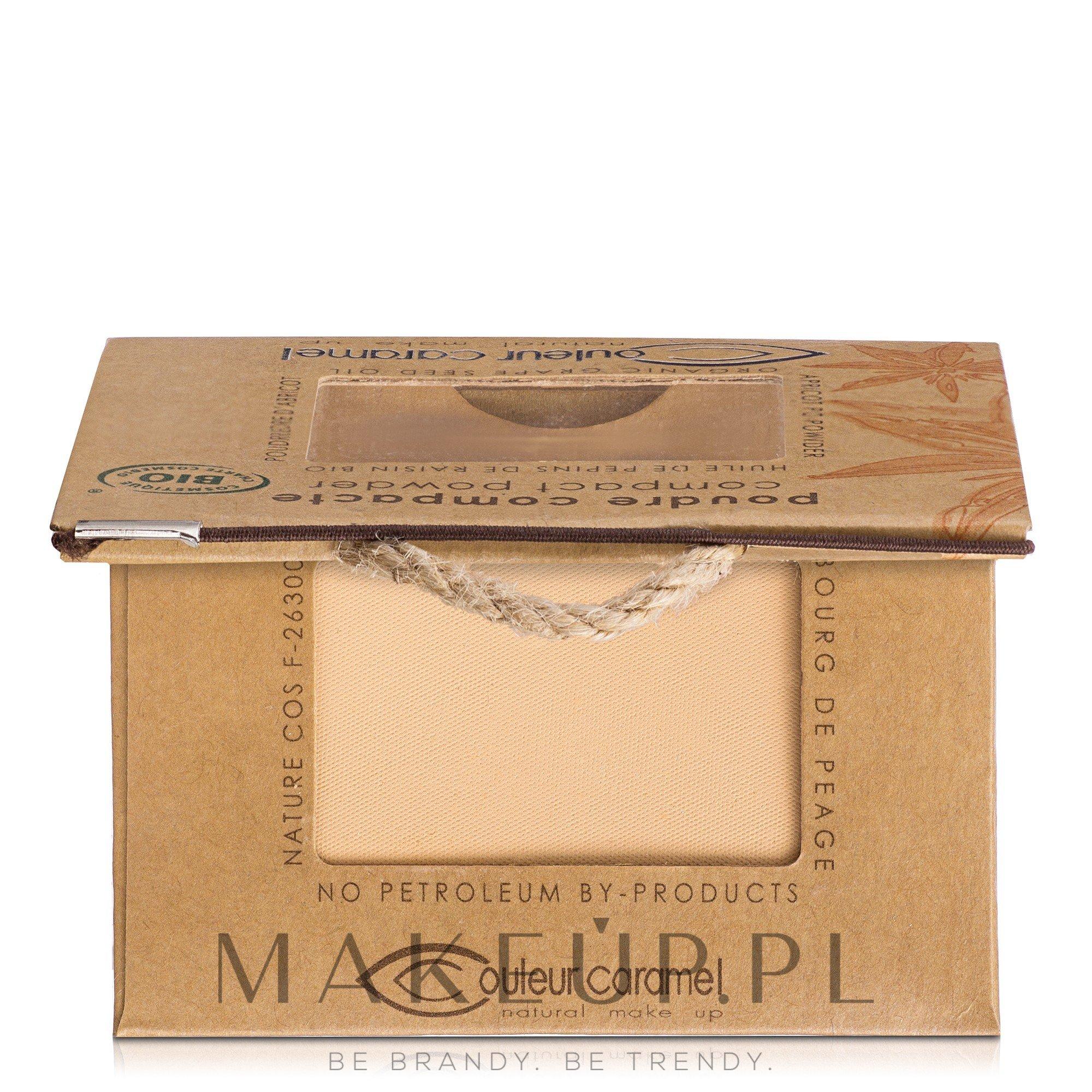 Puder w kompakcie - Couleur Caramel Compact Powder — фото 602 - Light Beige