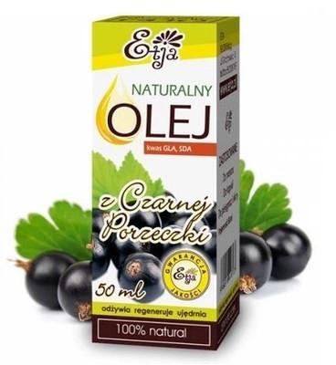 Naturalny olej z czarnej porzeczki - Etja — фото N1