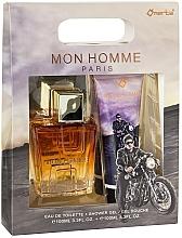 Kup Omerta Paris Mon Homme - Zestaw (edt/100ml + sh/gel/100ml)