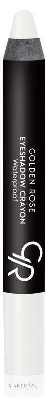 Wodoodporny cień w kredce do powiek - Golden Rose Eyeshadow Crayon Waterproof — фото 01