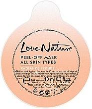 Kup Maska peel-off do twarzy Rozświetlające liczi - Oriflame Love Nature Radiance Lychee Peel-off Mask (próbka)