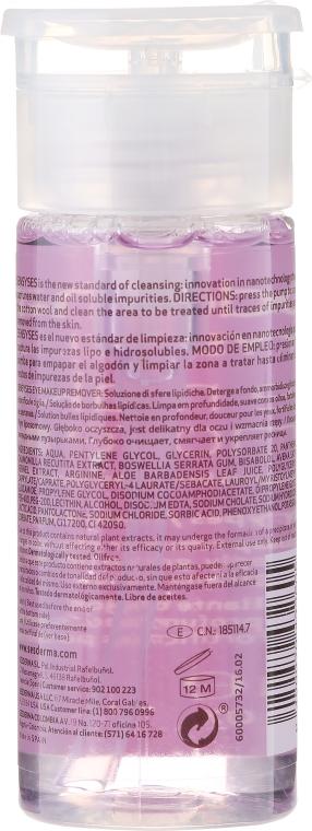 Bezolejowy płyn do demakijażu oczu - Sesderma Laboratories Sensyses Cleanser MakeUp Remover For Eyes — фото N2