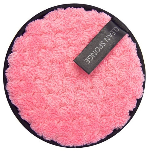 Gąbka do mycia twarzy, różowa - Donegal Boo Boo Cleaning — фото N1