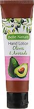 Kup Balsam-krem do rąk o zapachu oliwek i awokado - Belle Nature Hand Lotion Olives&Avocado