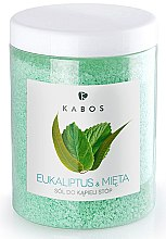 Kup Sól do kąpieli stóp Eukaliptus i mięta - Kabos Eucalyptus & Mint