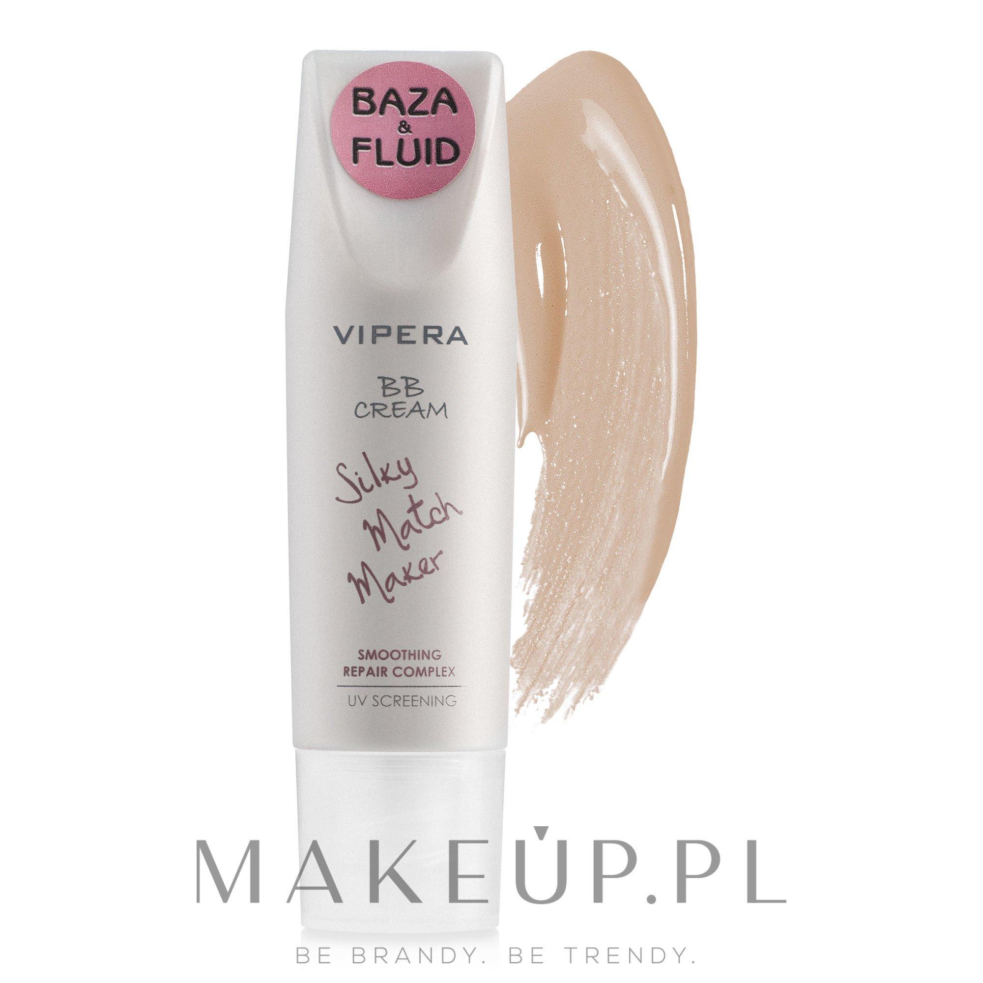 Krem BB do cery przetłuszczającej się - Vipera BB Cream Silky Match Maker — фото 04