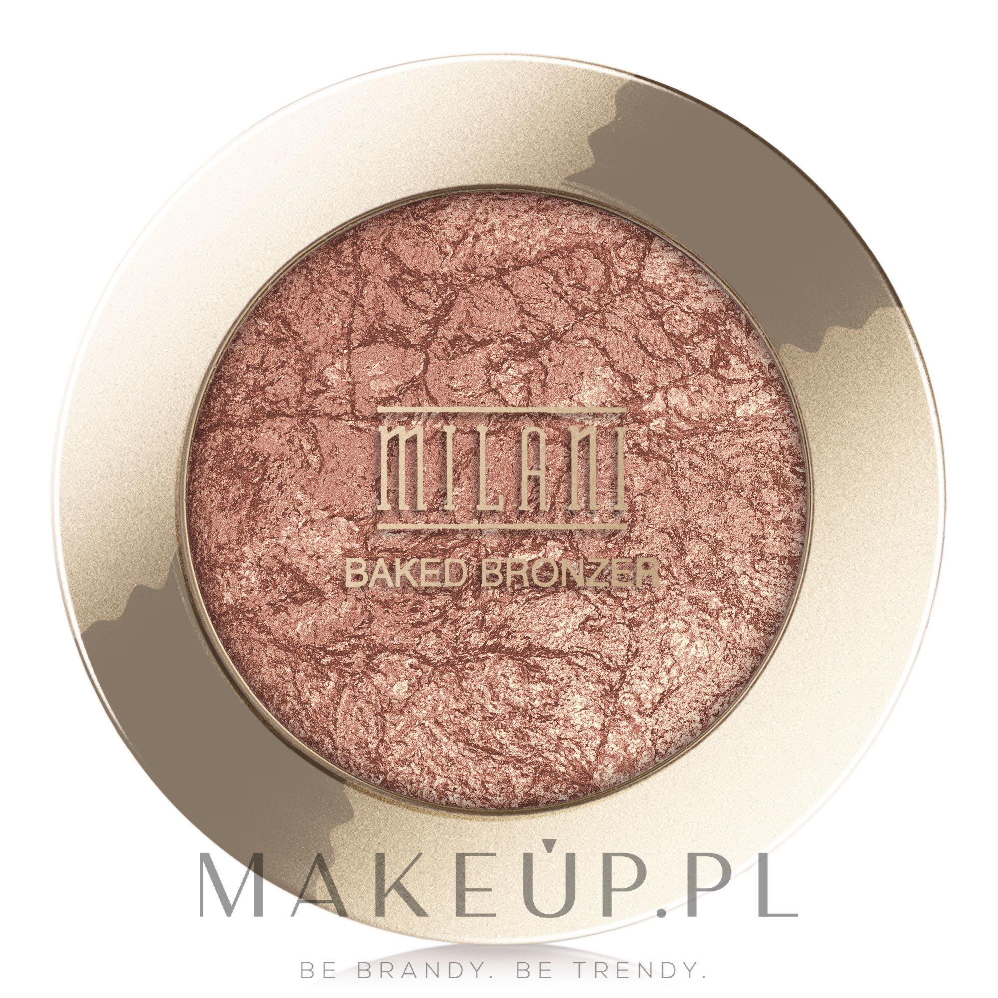Bronzer wypiekany - Milani Baked Bronzer — фото 04 - Glow