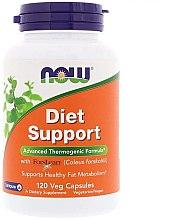 Kapsułki wspierające prawidłowy przebieg procesów metabolicznych - Now Foods Diet Support — фото N1