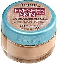 Kup Lekki podkład do twarzy w słoiczku - Rimmel Fresher Skin SPF 15