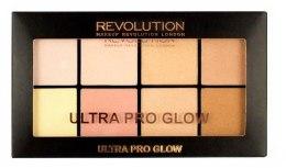 Kup Paletka rozświetlaczy do twarzy - Makeup Revolution Ultra Pro Glow