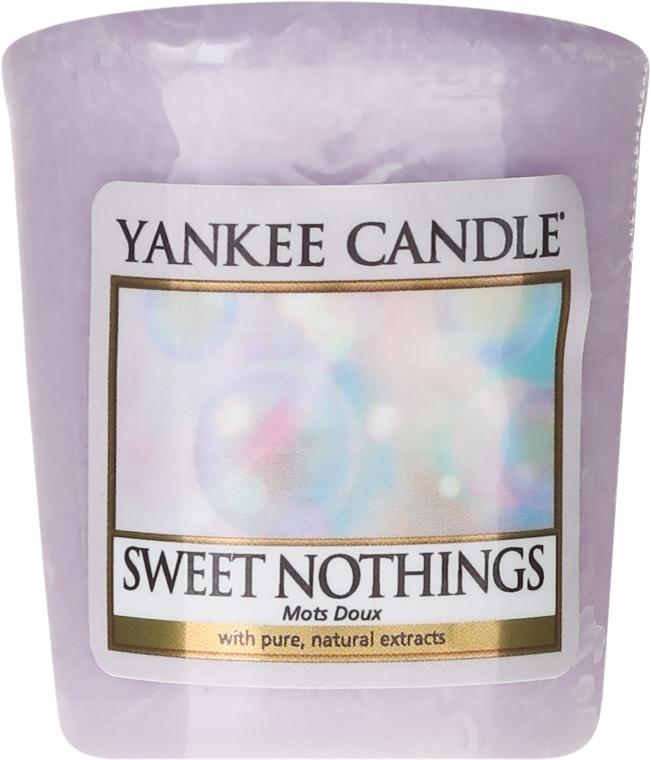 Świeca zapachowa sampler - Yankee Candle Sweet Nothings