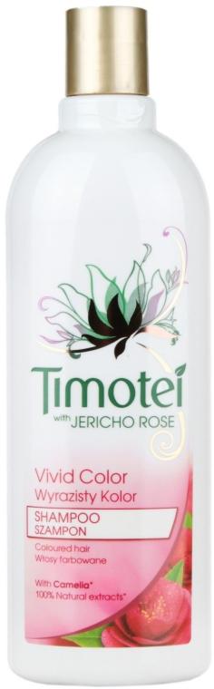 Szampon Wyrazisty kolor do włosów farbowanych - Timotei — фото N3