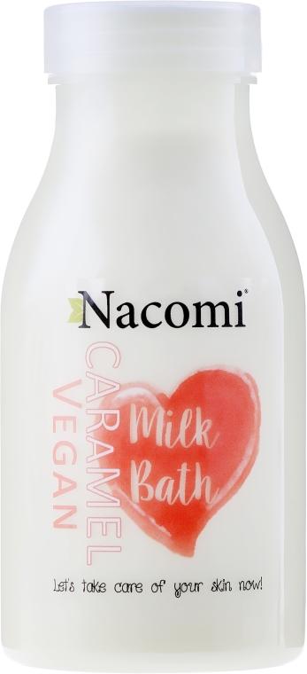 Wegańskie mleko do kąpieli o zapachu karmelu - Nacomi Milk Bath Caramel