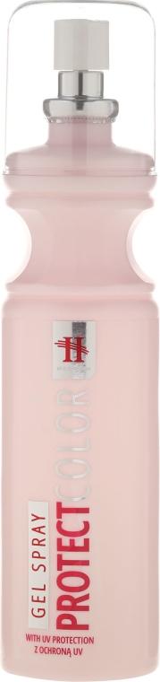 Żel w sprayu do włosów z ochroną UV - Hegron Styling Spray Protect Color — фото N1