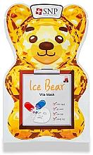 Kup Witaminowa maseczka w płachcie do twarzy - SNP Ice Bear Vita Mask