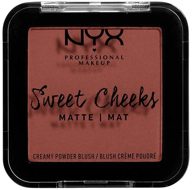 Kremowo-pudrowy matowy róż do policzków - NYX Professional Makeup Sweet Cheeks Matte Creamy Powder Blush