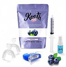 Kup Zestaw do wybielania zębów Jagoda - Keeth Blueberry Teeth Whitening Kit