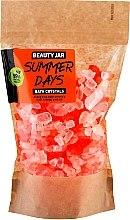 Kup Orzeźwiające kryształki do kąpieli z olejem ze skórki pomarańczowej - Beauty Jar Summer Days Energizing Bath Crystals with Orange Peel Oil