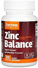Kup Cynk w kapsułkach - Jarrow Formulas Zinc Balance