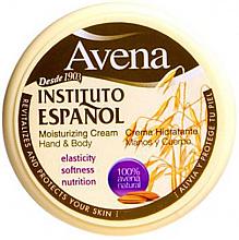 Kup Nawilżający krem do rąk i ciała - Instituto Espanol Avena Moisturizing Cream Hand & Body