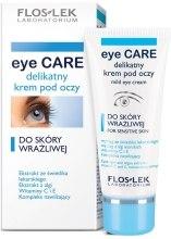 Delikatny krem pod oczy do skóry wrażliwej - Floslek Eye Care Mild Eye Cream For Sensitive Skin — фото N1