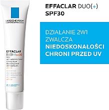 Krem zwalczający niedoskonałości skóry SPF 30 - La Roche-Posay Effaclar Duo (+) — фото N2