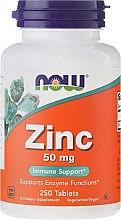 Kup Cynk w tabletkach - Now Foods Zinc
