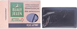 Kup Naturalne mydło dermatologiczne Węgiel aktywny - Biały Jeleń Apteka alergika