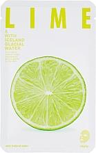 Kup Maseczka na tkaninie do twarzy Limonka - The Iceland Lime Mask