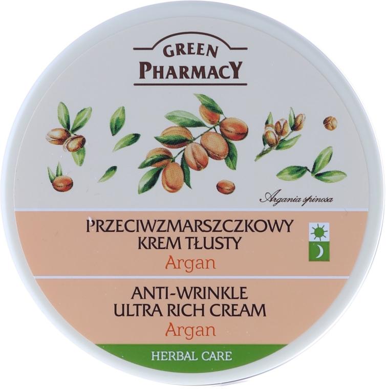 Przeciwzmarszczkowy krem tłusty Argan - Green Pharmacy Anti-Wrinkle Ultra Rich Cream