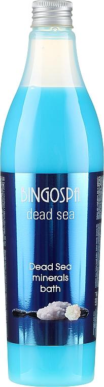 Płyn do kąpieli z minerałami z Morza Martwego - BingoSpa Dead Sea Minerals Bath — фото N1