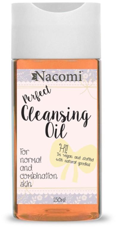 Olejek do demakijażu cery mieszanej - Nacomi Perfect Cleansing Oil