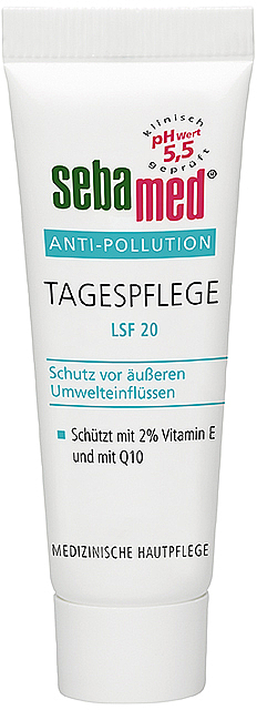 Krem do twarzy na dzień z filtrem SPF 20 - Sebamed Anti-Pollution Day Care — фото N1