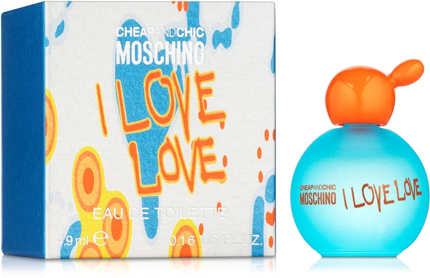 Moschino I Love Love - Woda toaletowa (mini)