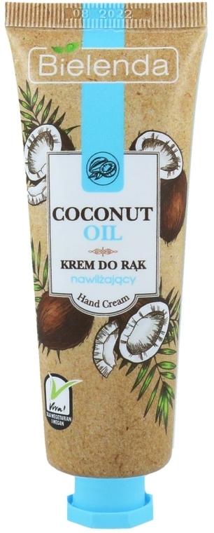 Nawilżający krem do rąk Olej kokosowy - Bielenda Moisturising Hand Cream