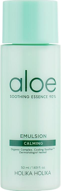 Kojący zestaw do pielęgnacji twarzy - Holika Holika Aloe Skin Care Special Set (toner 50 ml + emulsion 50 ml + cr 20 ml) — фото N4