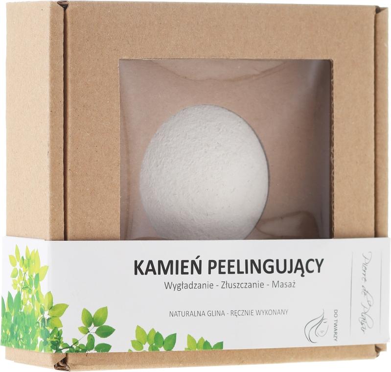 100% naturalny ręcznie wykonany kamień peelingujący - Pierre de Plaisir Natural Scrubbing Stone Face  — фото N1