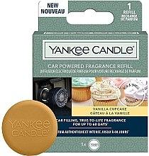 Kup Zapach do samochodu - Yankee Candle Car Powered Fragrance Refill Vanilla Cupcake (wymienny wkład)