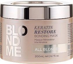 Kup Odbudowująca maska keratynowa do włosów blond - Schwarzkopf Professional Blondme Keratin Restore Bonding Mask