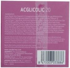Odżywczy krem przeciwstarzeniowy - SesDerma Laboratories Acglicolic 20 Nourishing Cream — фото N2