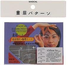 Kup Szablon do makijażu brwi, rozmiar B1, B2, B3, B4 - Magical Eyebrow Style