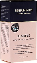 Kup Krem do skóry wokół oczu - Sensum Mare Algoeye Advanced And Rich Eye Cream