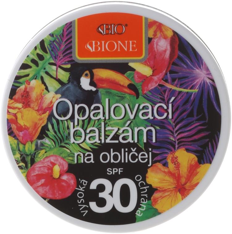 Biobalsam do opalania twarzy SPF 30 - Bione Cosmetics Sun Face Balm — фото N1