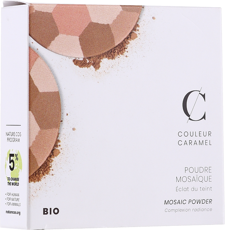 Puder do twarzy - Couleur Caramel Mosaic Powder — фото N1
