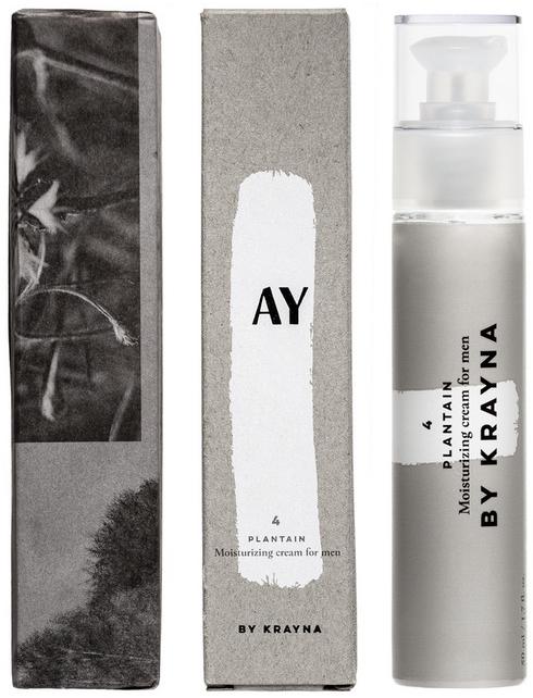 Odżywczy krem do twarzy dla mężczyzn - Krayna AY4 Plantain Cream For Man — фото N1