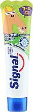 Kup Pasta do zębów dla dzieci 3–6 lat - Signal Kids Mint Toothpaste