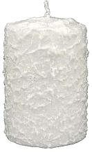 Kup Świeca dekoracyjna, biała, 7,5 x 14 cm - Artman Christmas Candle White