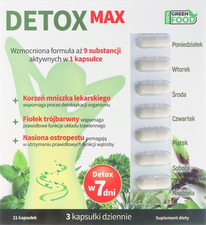Suplement diety wspomagający proces detoksykacji organizmu - Noble Health Slim Line Detox Max