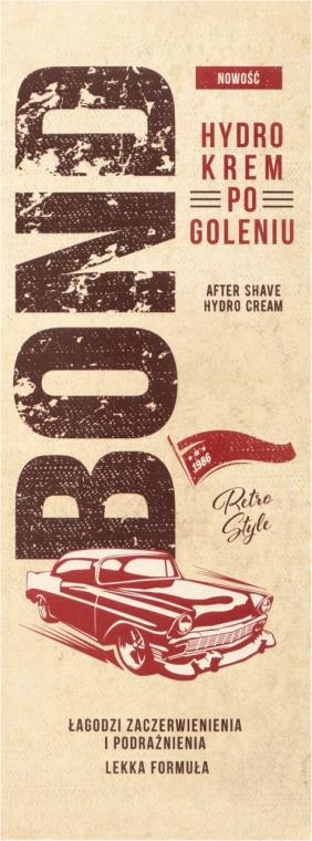 Balsam po goleniu łagodzący podrażnienia i zaczerwienienia - Bond Retro Style After Shave Hydro Cream — фото N2