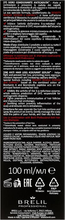 Serum przeciw wypadaniu włosów - Brelil Anti Hair Loss Serum — фото N3